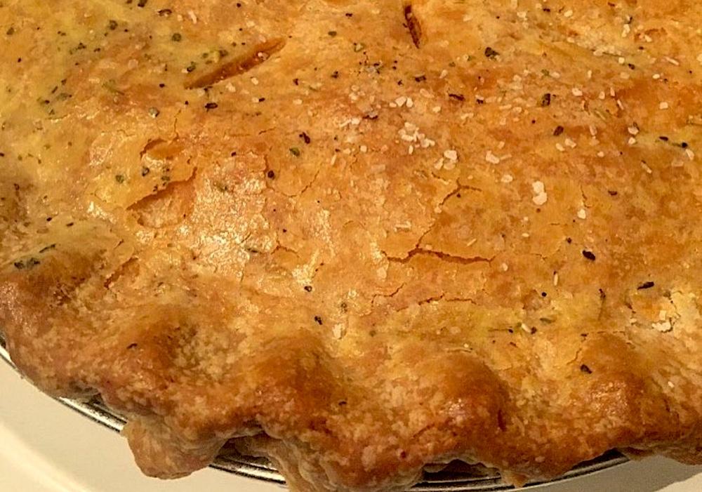 From Z to A: Herb Turkey Pot Pie