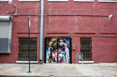 Leave Your Mark on Baker's Alley at Saturday's Painting Party