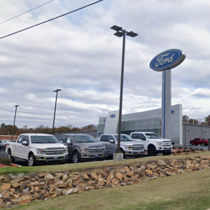 Red River Dips South to Cabot Dealership