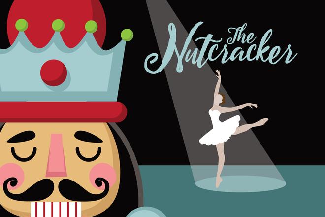 Nutcracker ballet (stock photo)