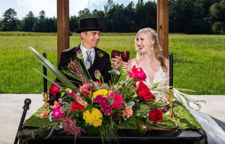 We've Gone Down the Rabbit Hole with this Modern Mad Hatter Styled Shoot