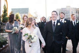 Madeline + Hayden's Winter Wonderland Wedding