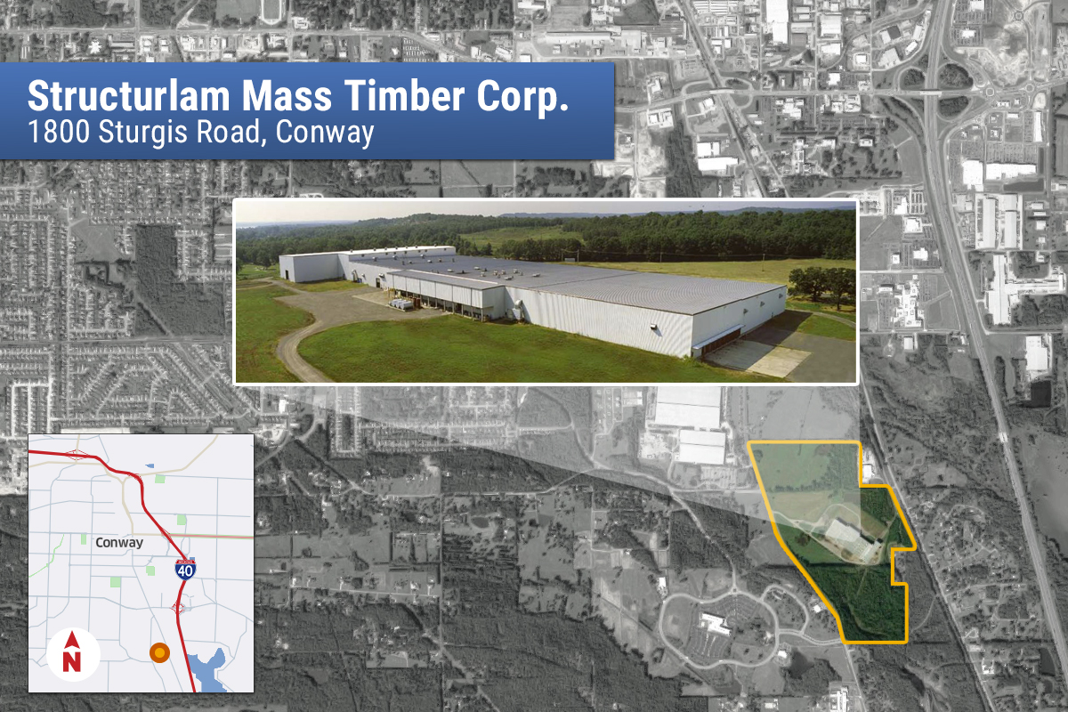 With Walmart As Client Structurlam To Put 90m Plant In