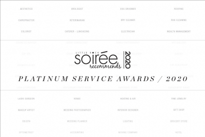 Soirée Recommends: Platinum Service Awards 2020