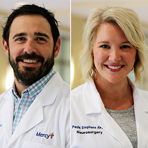 Castellvi, Stephens Join Neurosurgery Team at Mercy (Movers & Shakers)