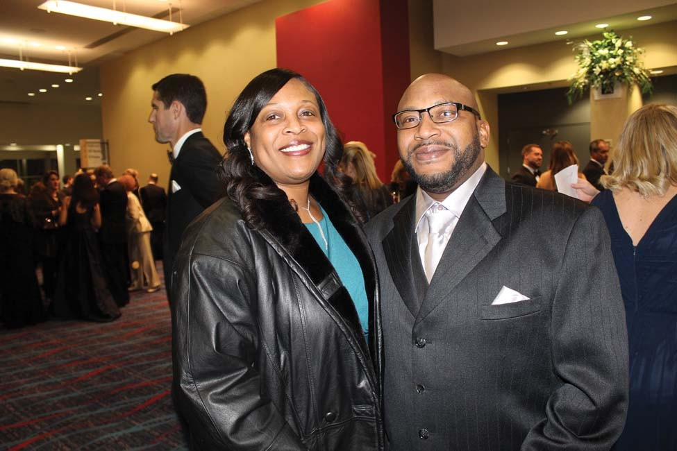 Adrianne and Cedric Brown