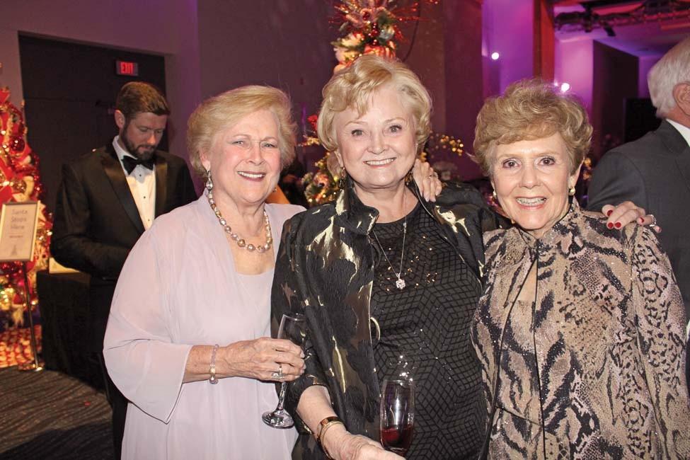 Carolyn Boshears, Sherry Rowbotham, Bucky Thomas