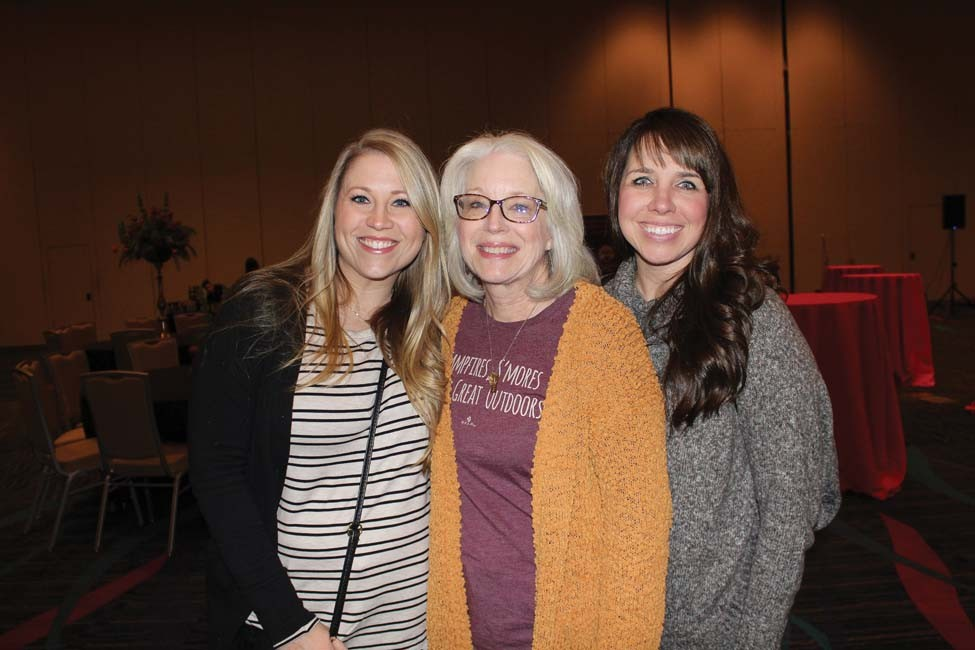 Emily Ferrand, Joy Tucker, Stephanie Morgan