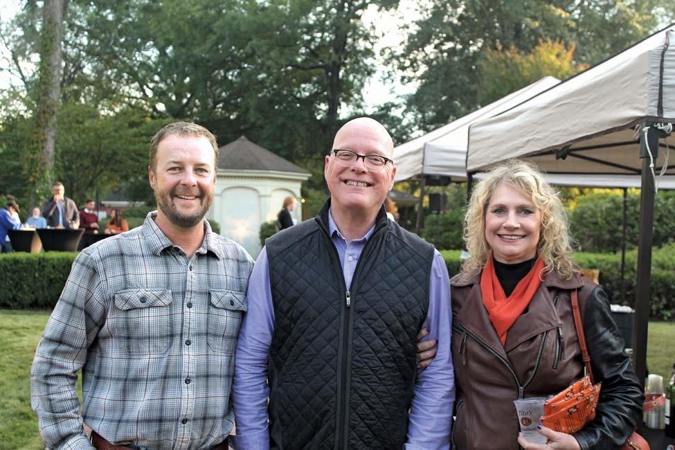 John Crow, Brad Cushman, Phyllis Britton