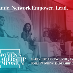Soiree Announces Sessions for 2020 Women's Leadership Symposium