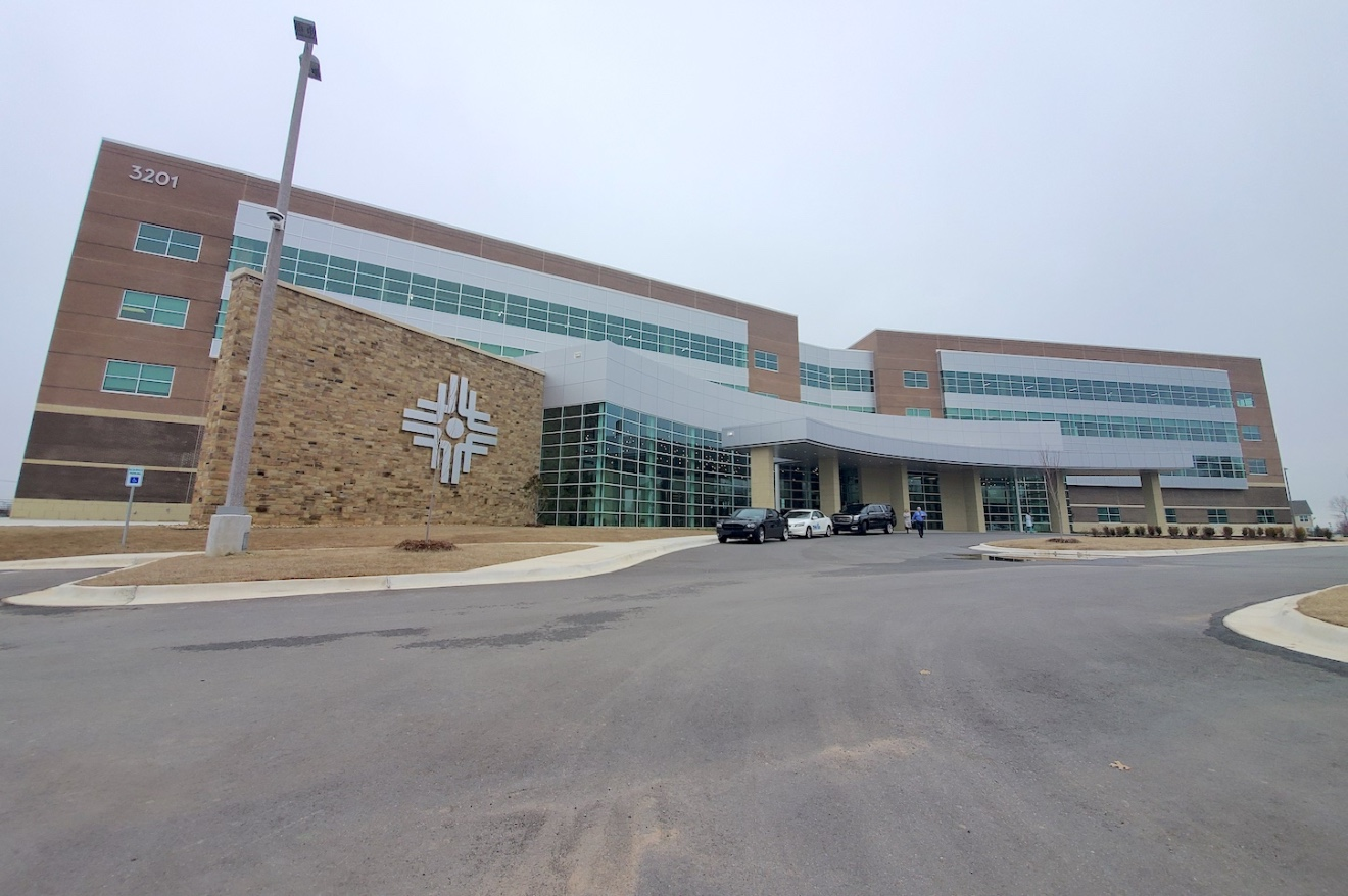 Baptist Health's $32 million, 160,000-SF Baptist Health Medical Office Building in North Little Rock.