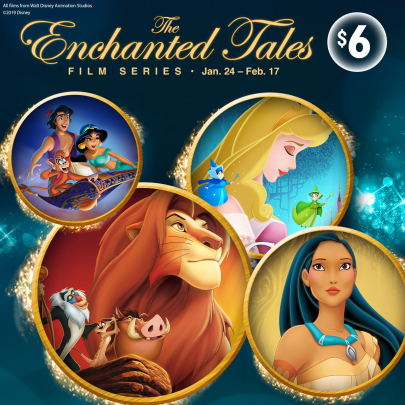 Coming Soon: Enchanted Tales Film Series at The Movie Tavern