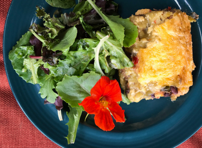 Try This Yogi's Sweet Potato Black Bean Enchiladas Recipe