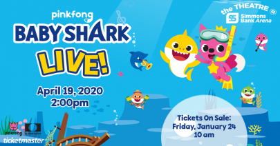 Baby Shark Live! Coming to Simmons Bank Arena