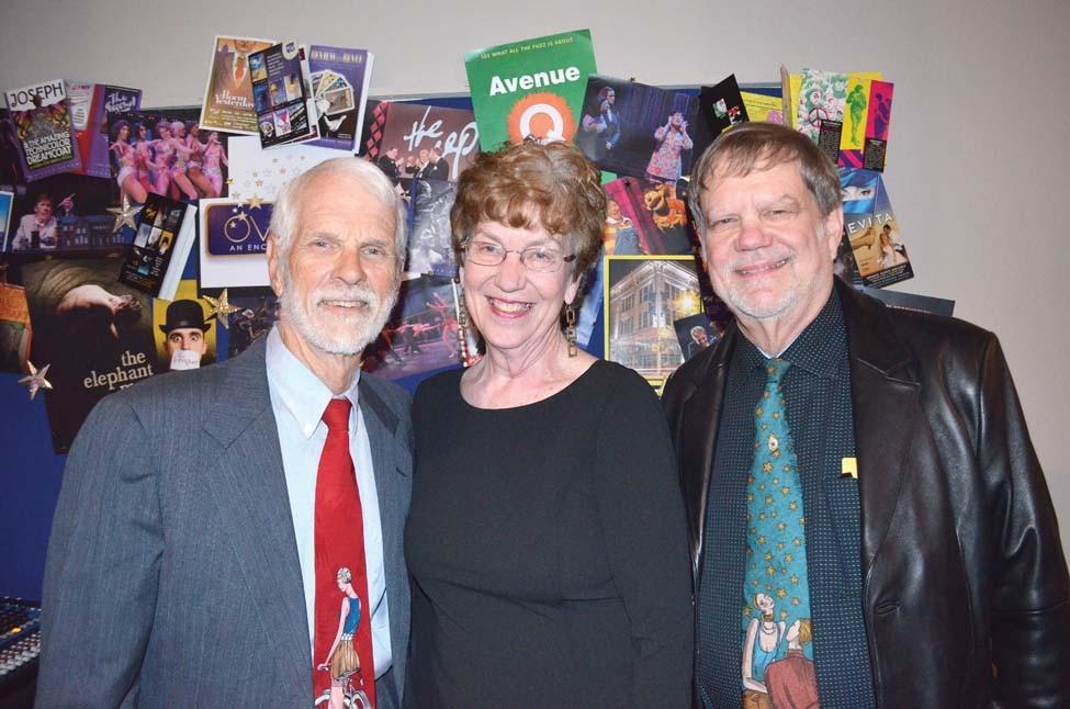 Steve and Ruth Shepherd, Bill Rector