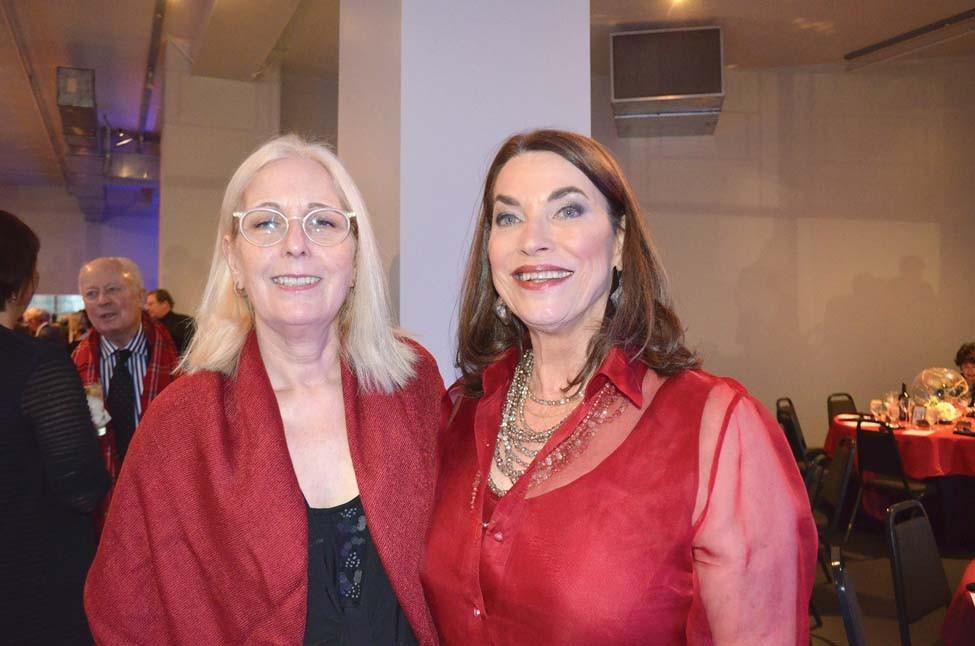 Leslie Minelli, Sharon Meador