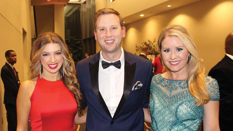 Alisha Curtis, Jeremy Flynn and Elicia Dover