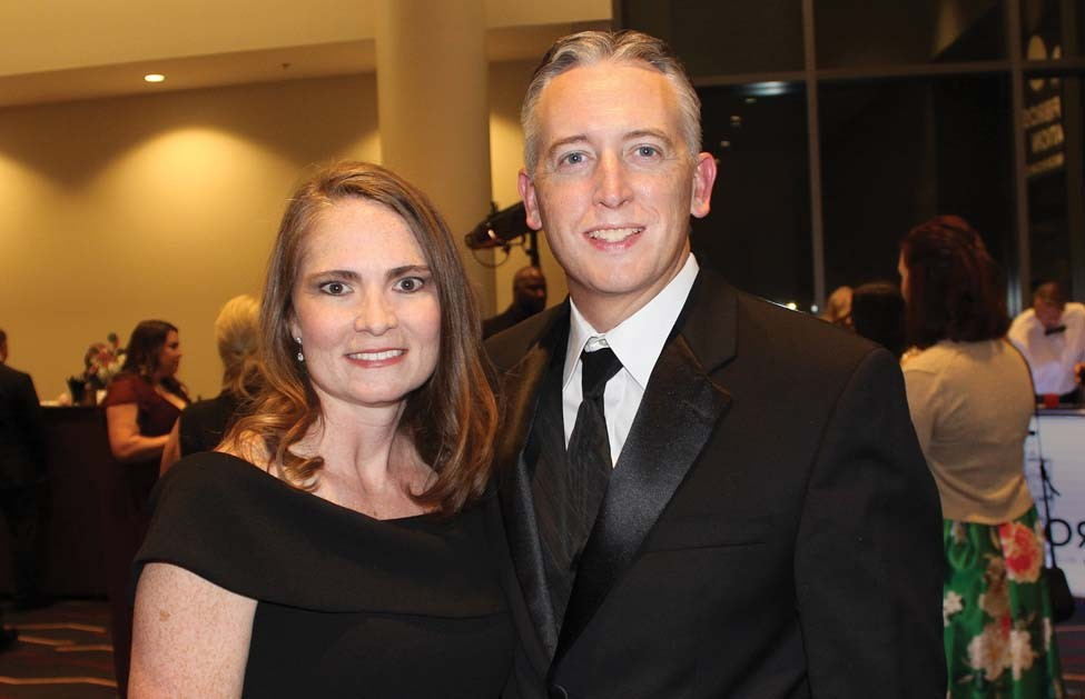 April and Dr. Jaymie Pennington