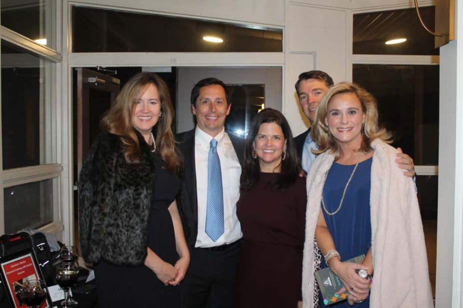 Katie Huff, Tom and Anne Wallace, Ted and Jill Penick