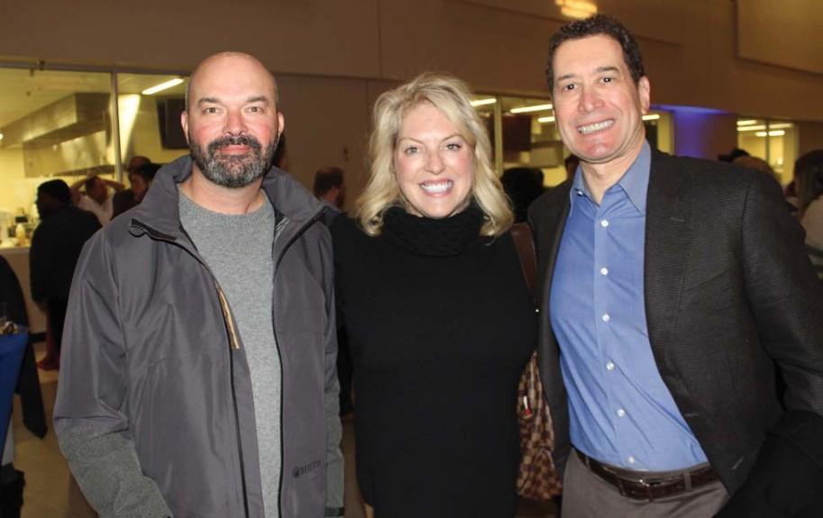 David McClellan, Leslie Harmon, Dr. Rhys Branman