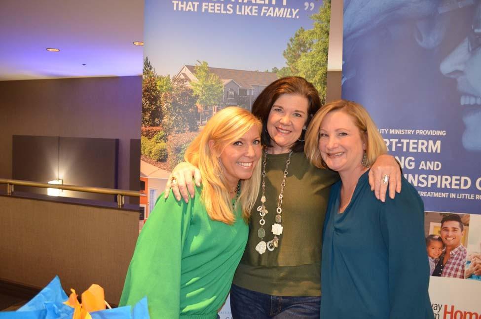 Kim Burket, Lori French, Sharon Graves