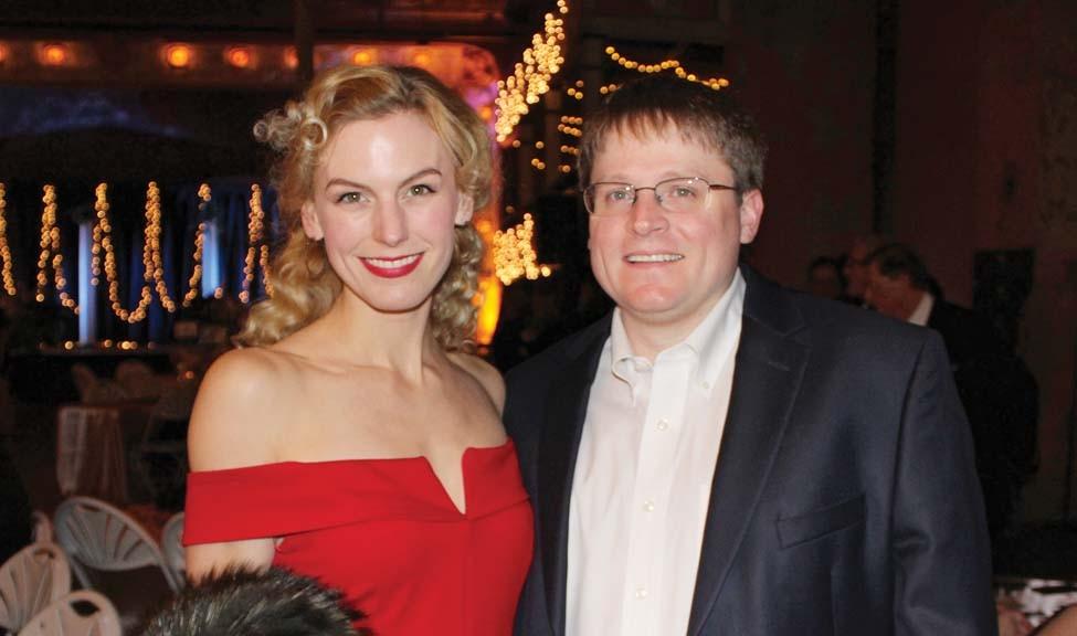 Lauren and Joe Hill