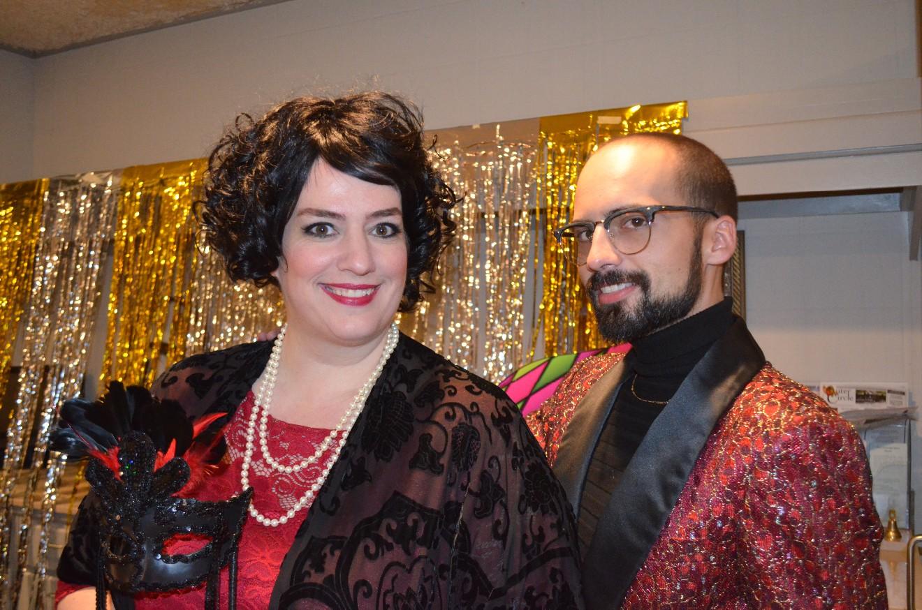 Erin and Martinez Warner