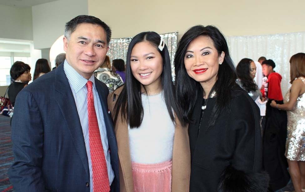 Bill Yee, Addison Yee, Dr. Suzanne Yee