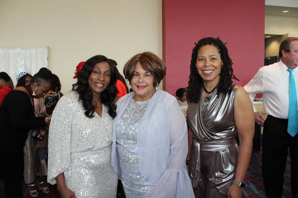 Doris Washington, Dr. Paula Martin-Fletcher, Whitney Montague