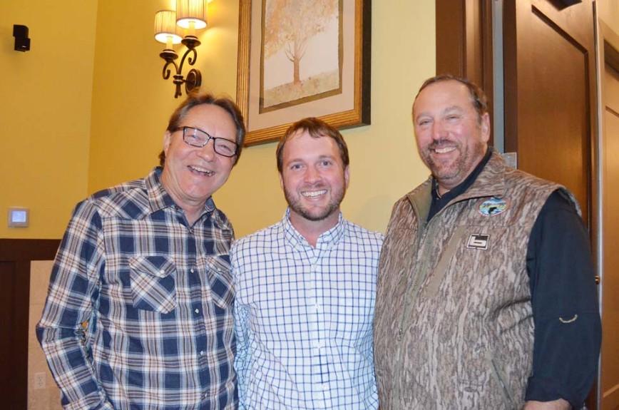 Larry Bowden, Trey Garrett, J.D. Neeley