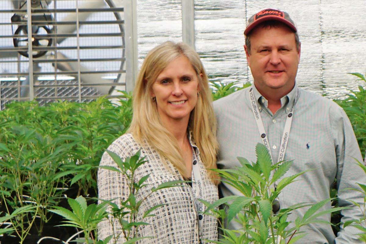 Misty Drennan and her husband, Mark, are part owners of Bold Team LLC, a cultivation center in Cotton Plant. They're now partners in Suite 443, a medical marijuana dispensary in Hot Springs.