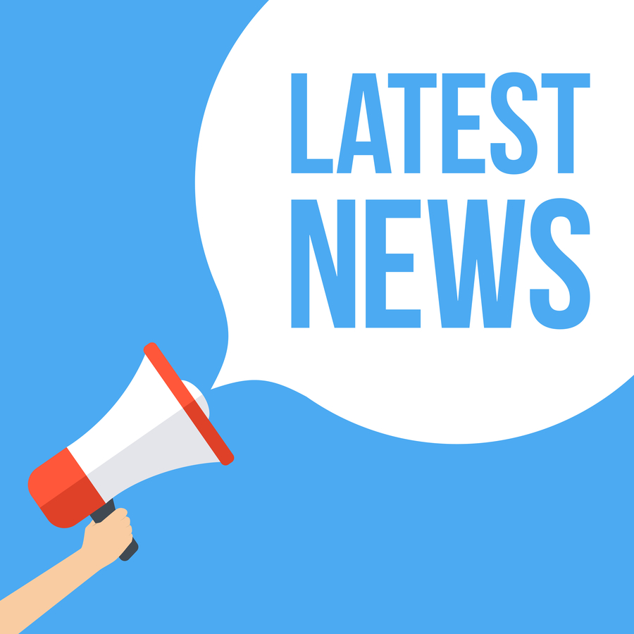 Latest News Shutterstock illustration megaphone