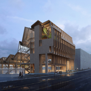 UA Picks Grafton Architects for Anthony Timberlands Center