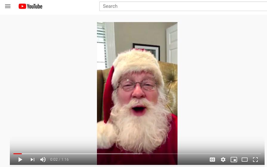 Santa Pete Shares Joyful Message with Kids