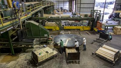 Pandemic Pushes Lumber Prices Up