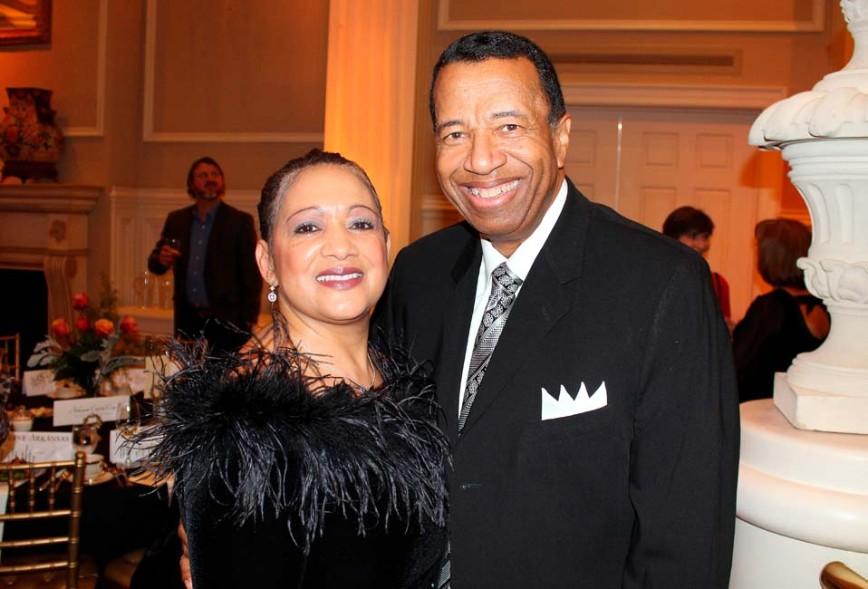 Sandra and Harvey Hairston