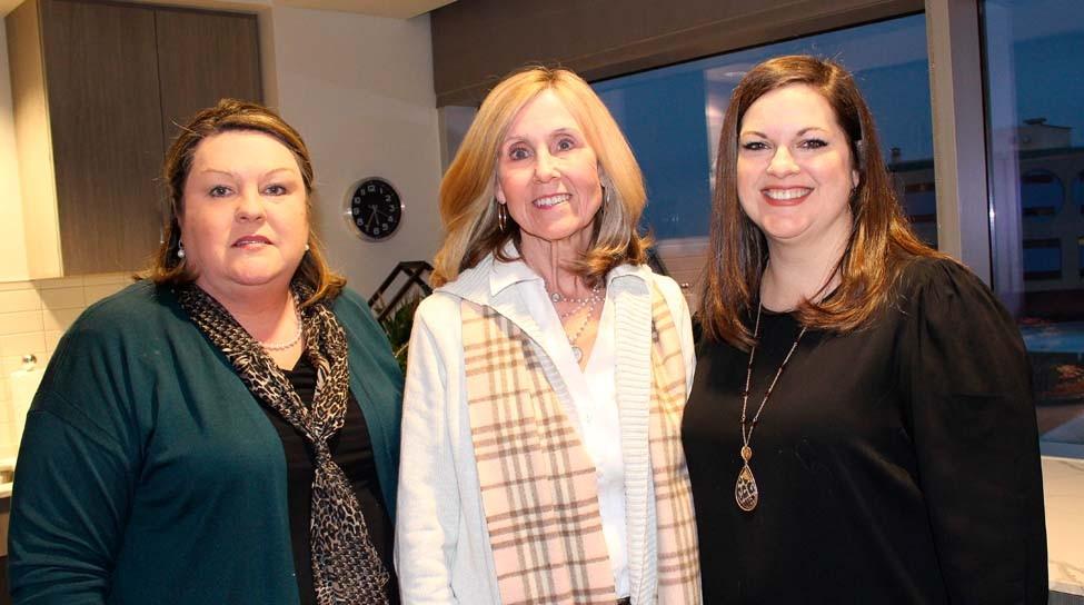 Diana Smithson, Shelia Vaught, Emily Piechocki