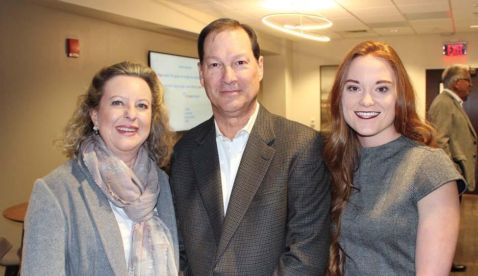 Lisa and Sam Baxter, Bailey Shaffer