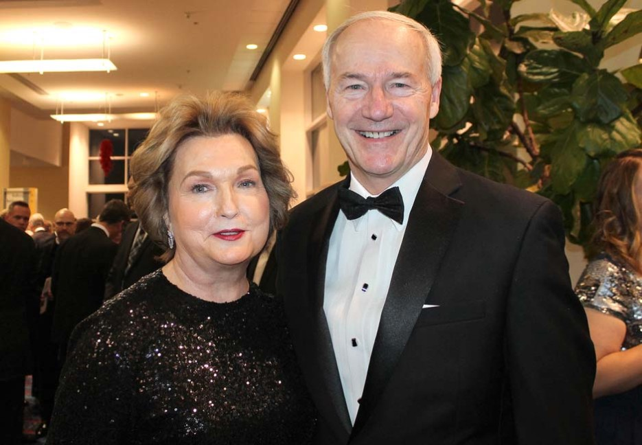 Susan and Gov. Asa Hutchinson