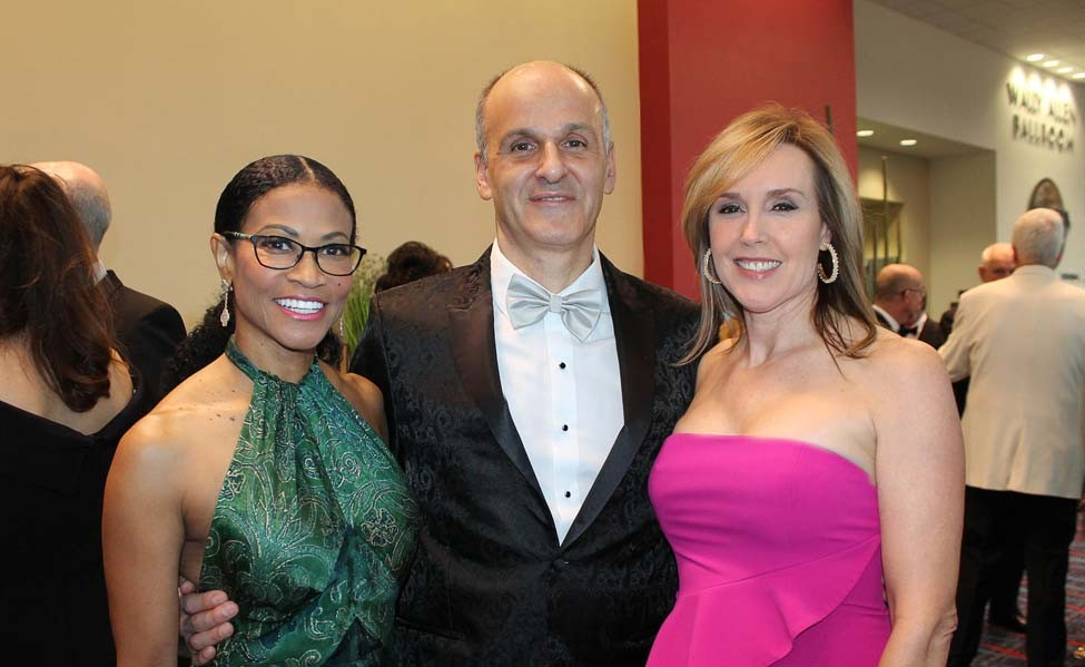 Donna Terrell, Chuck and Becky Spohn