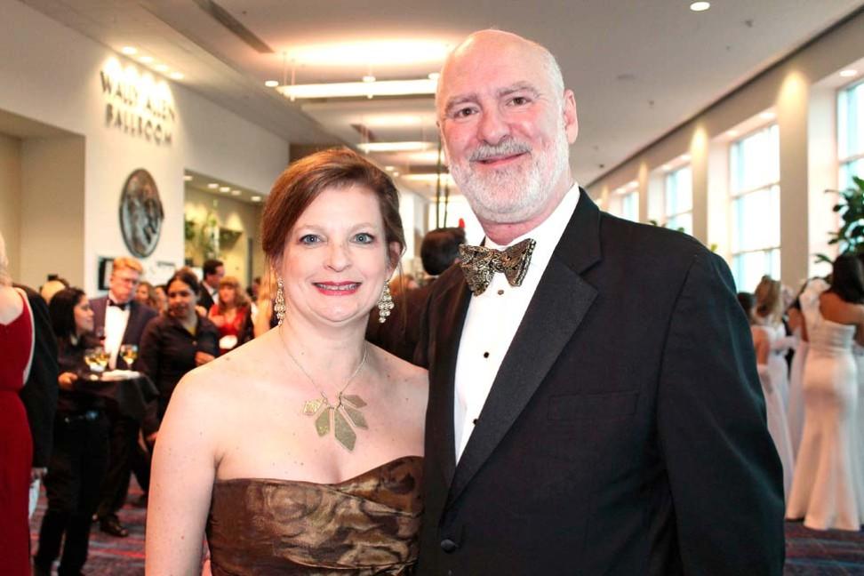 Elizabeth and Dr. Charles Clogston