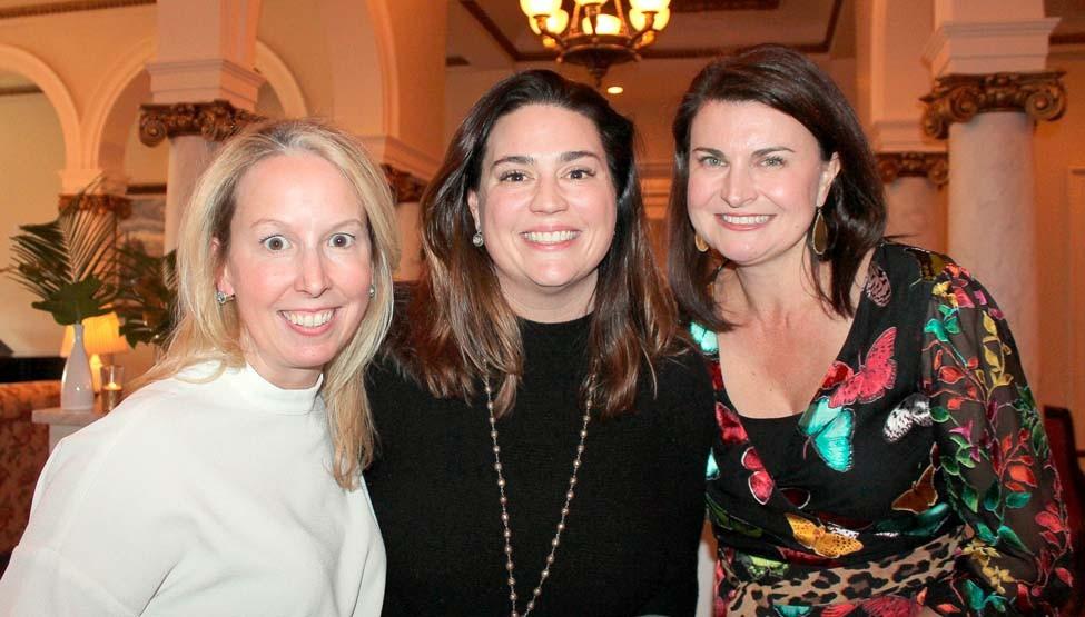 Sarah Priebe, Jessie McClarty, Mary Allen