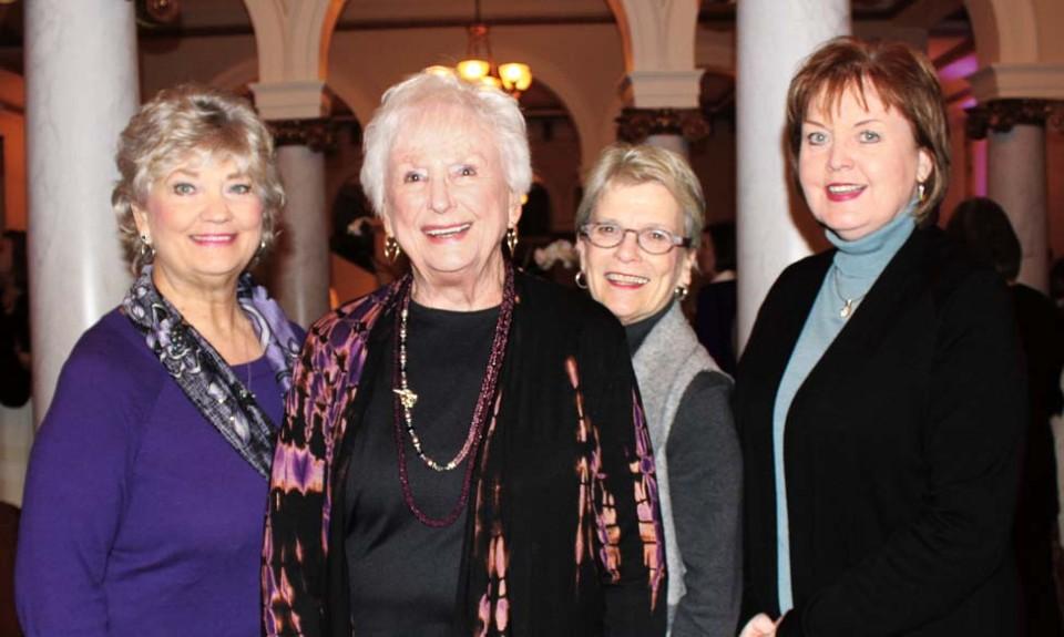 Debbie Merritt, Patsy Newton, Pat Otto, Jan Newcomer