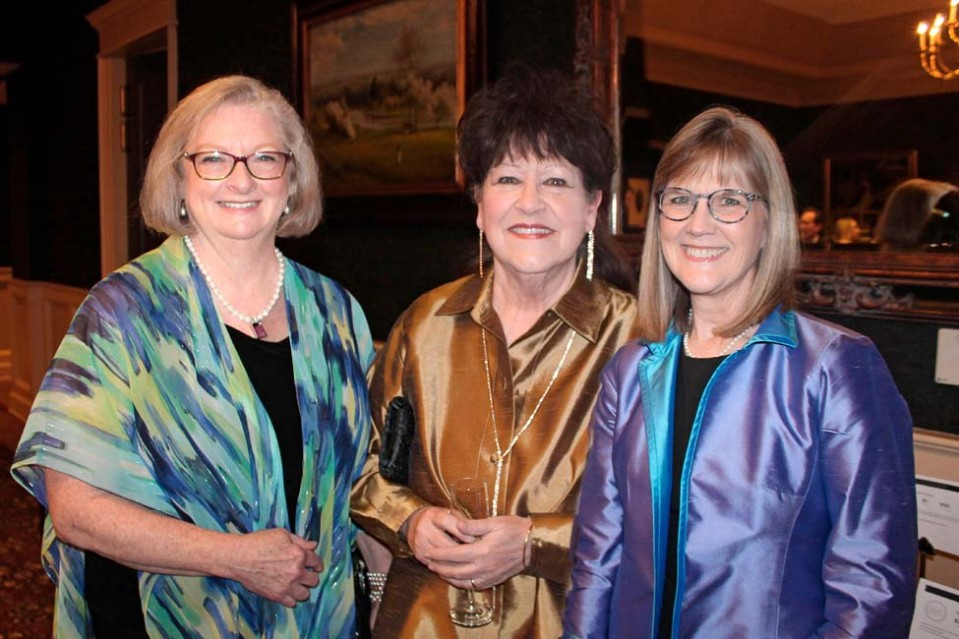 Diane Vibhakar, Janis Harrison, Elizabeth Small