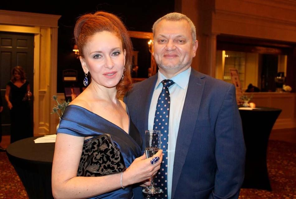 Marina and Dr. Mikhail Ivanovsky