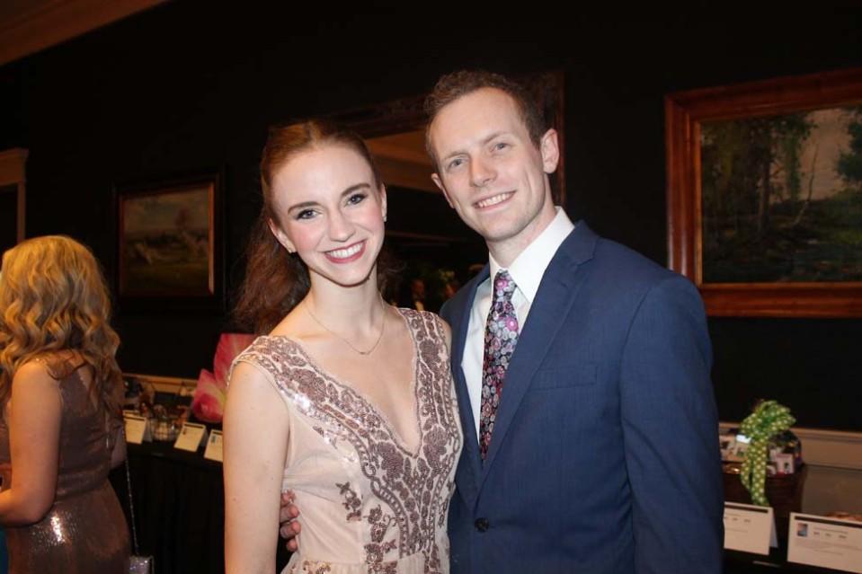 Megan Hustle Tillman and Paul Tillman