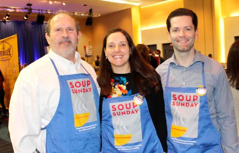 Rich Huddleston, Beth and Brian Kutsch