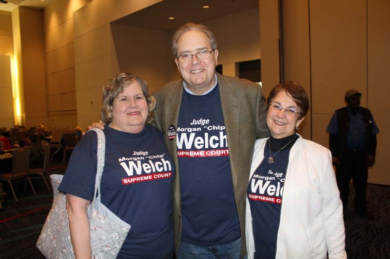 Leslie Taylor, Chip and Cheryl Welch