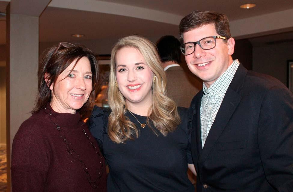 Melanie Fox, Megan and Brad Delco