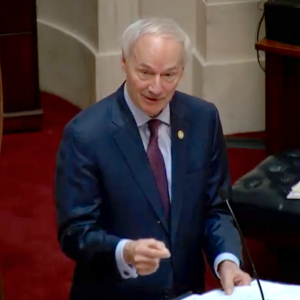 Hutchinson Decries 'Partisan Attack' Over Website, Says FBI Investigating